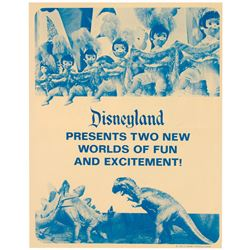 """Primeval World"" & ""It's a Small World"" Brochure."