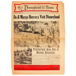 1956 Disneyland News.