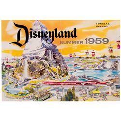 Disneyland Summer 1959 Insert.
