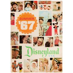 Disneyland Summer '67 Guide Book.
