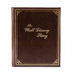 """The Walt Disney Story"" Commemorative Plaque & Case."