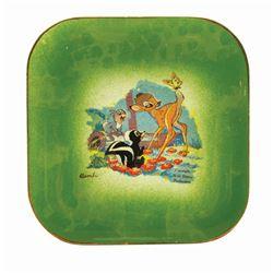 """""""Bambi"""" Eleanore Welborn Dish."""