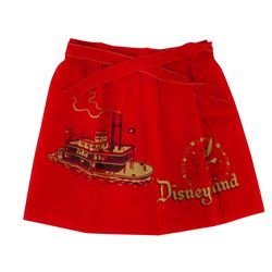 Disneyland Souvenir Child's Apron.