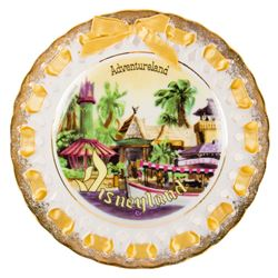 Ceramic Adventureland Lace Plate.