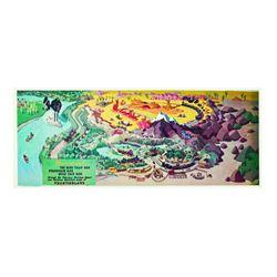 "Frontierland ""Disneyrama"" Postcard."