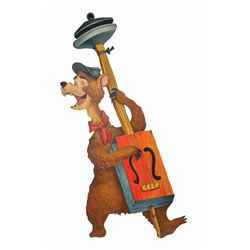"Tennessee Bear ""Country Bear"" Construction Sign."