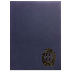 """Club 33"" Membership Documents & Folder."