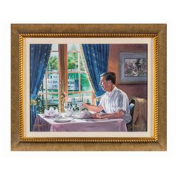 "Walt Disney ""Club 33"" Boyer Signed Fine Art Print."