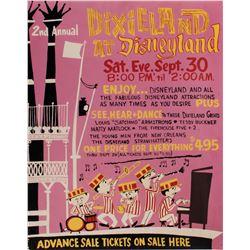 Dixieland at Disneyland Poster.