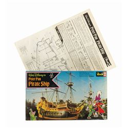 Peter Pan Pirate Ship Model Kit.