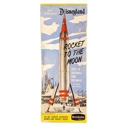 """Rocket to the Moon"" Model in Box."