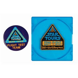 """Star Tours"" Grand Opening & Final Flight Items."