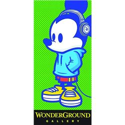 Large WonderGround Gallery Entrance Banner.