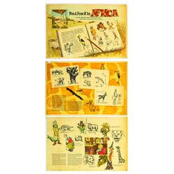 Collection of Ken Anderson  Africa  Concept Art.