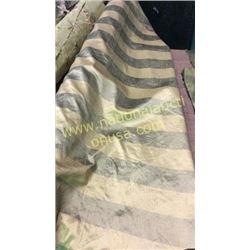 1 roll 11 yards fabric