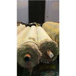 2 rolls  49+ unmeasured yards fabric