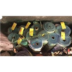 13 rolls 414+ unmeasured yards fabric