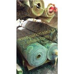 5 rolls  153+unmeasured yards fabric
