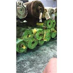 11 rolls 291+ unmeasured yards fabric