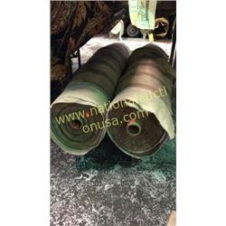 2 rolls unmeasured yards fabric