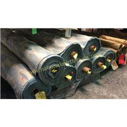 8 rolls 396 yards fabric