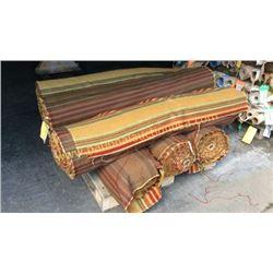 6 rolls  246+ unmeasured yards fabric