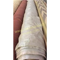 1 roll 21 yards fabric