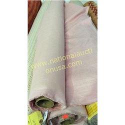 2 rolls 44  Yards fabric