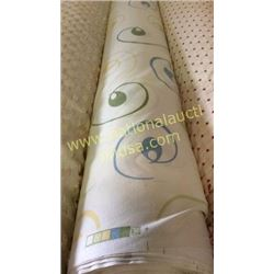 1 roll 62 yards fabric