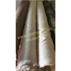 2 rolls  unmeasured yards fabric