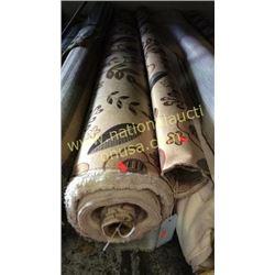 2 rolls  2 + unmeasured yards fabric