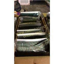 1 box misc green trim