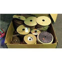 1 box  8 rolls misc trim
