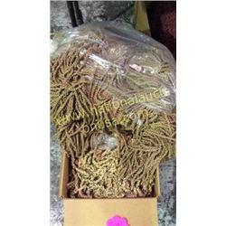 1 box 25 + unmeasured yards brown fringe