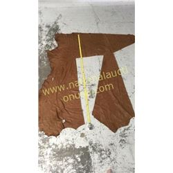 1 piece brown leather