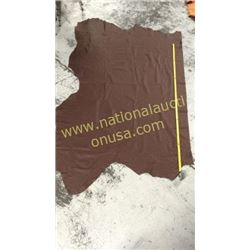 1 piece chocolate brown leather