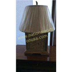 Ardley Hall Hand Painted Lamp