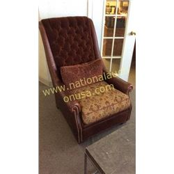 Century Leather and Upholstery Fulton Chair  33W