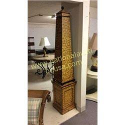 Ardley Hall Tower Shelf  Missing 1 Glass Shelf