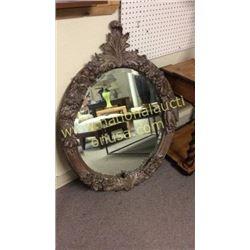 John Richard Oval Fruit Mirror  32W x 43T