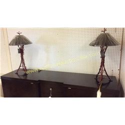 Pair Ardley Hall Lamps