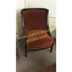Century Chair Velvet Upholstery
