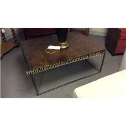 Century Cocktail Table  43W x 18T x 32D