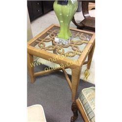 Century Cocktail Table  24W x 22T x 24D