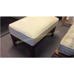 Laventure Foot Stool with Upholstery Top  29W x