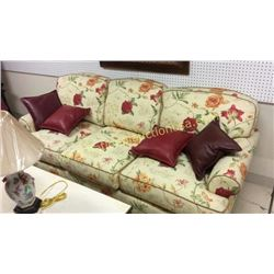 Highland House Rose Sofa  Pillows not Included
