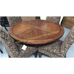 Century 54inch Round Pedestal Table