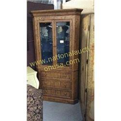Century Corner Cabinet  44W x 86T x 22D