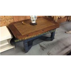 Century Cocktail Table  46W x 20T x 32D