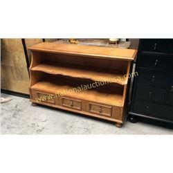 Century Pine Display Shelf  58W x 35T x 21D
